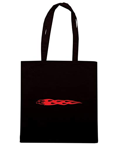 FUN0317 Speed 016 Shopper Shirt Nera FLAME Borsa q4C4wIP