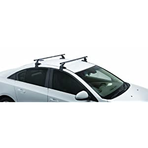 SportRack SR1010 Complete Roof Rack System, Black