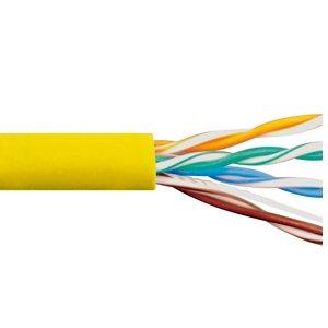 ICC ICC-ICCABR6VBL Cmr Cat6 Utp 500 Mhz (No Spline) White ()