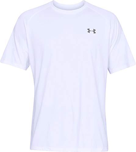 Under Armour UA Tech Short Sleeve Tee White/Overcast Gray LT