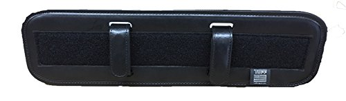 """TUFF Backed Up Back Support Black Plain With 2 Keepers Fits Duty Belts up to 2.25"""""""