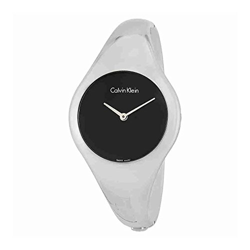 Calvin Klein Bare Black Dial Ladies Watch K7G2M111