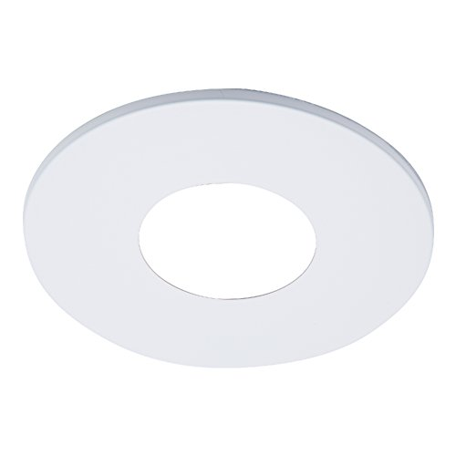 Halo TL41RMW 2'' Matte White Open Pinhole Recessed Trim, for use with The ML4 Family, White by Halo