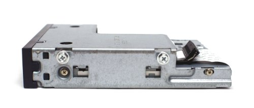 Genuine Dell UT835 Slim Black IDE Internal 1.44M Floppy Drive + Ribbon Cable For Use With Optiplex 745, 755, 760, 780, GX520, GX620, Compatible Dell Part Numbers: 134-508053-382-0, FD-05HG,MPF820, FD3238T by Dell (Image #2)