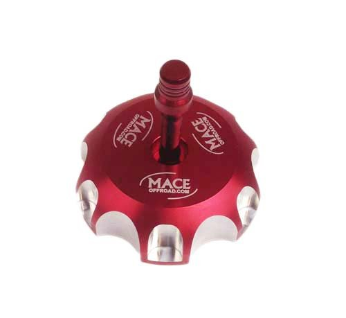RED CNC Billet Fuel GAS CAP for Honda CR85 CR85R EXPERT CR125 CR230F CR250 by Mace offroad