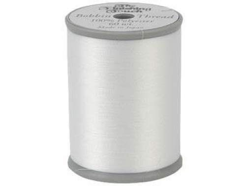 The Finishing Touch Embroidery & Sewing Bobbin Thread 1200yds. 100% Polyester 60wt. 5 Spools BCACS31083