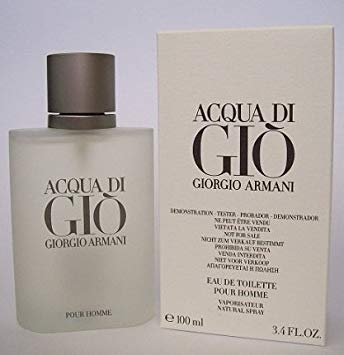 - Acqua de Gio [TESTER] 3.4oz Eau de Toilette spray Cologne for Men [WHITE BOX]