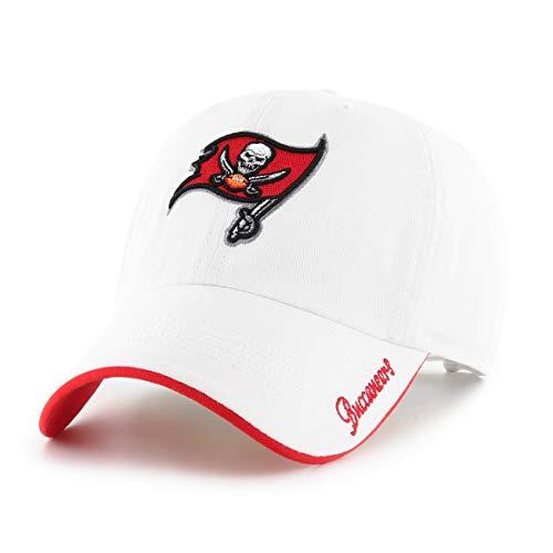 NFL Tampa Bay Buccaneers Women's Accolade OTS Challenger Adjustable Hat, White, ()