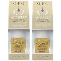 OPI AVOPLEX NAIL & CUTICLE REPLENISHING OIL (0.5 oz/15 mL.) Full Size Bottles (Qty, Of 2 Bottles) by Beauty makeup