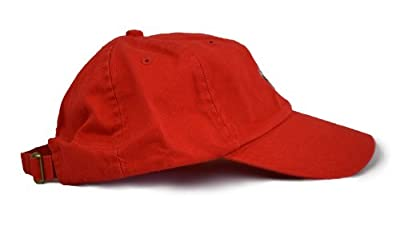 Ann Arbor T-shirt Co. Tennessee State Flag Low Profile Baseball Hat   Tennesseean Golf Cap Red