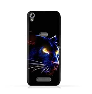 AMC Design Lava Iris Fuel 60 TPU Silicone Protective case with Panther Eye