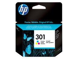 HP 301 - Cartucho de Tinta Original HP 301 Tricolor para HP ...