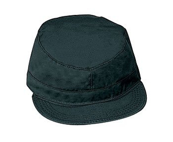 Rothco Fatigue Cap, Black, Medium ()