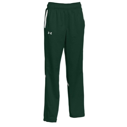 Womens Green Paramount Pants - Under Armour Women's UA Qualifier Knit Warm-Up Pants Medium Forest Green