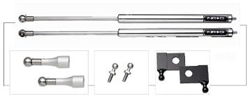 NRG Innovations HD-130 Polished Hood Damper Kit