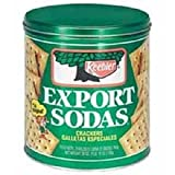 Keebler Export Sodas Crackers, 28 Oz 12 Pack