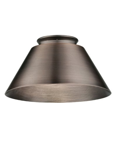 Lithonia DMCN BZ M6 Decorative Metal Cone Shade, Bronze (Pendant Shades Only)