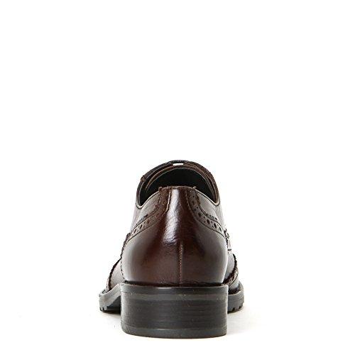 MARINA SEVAL by Scarpe&Scarpe - Schnürschuhe mit Military-Sohle, Leder, mit Absätzen 3 cm Leder
