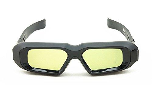 Rechargeable 96-480Hz RF/Bluetooth 3D Active Shutter Glasses for 3D TVs/Epson Projectors