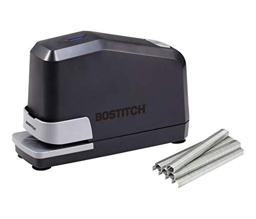 Bostitch Impulse 45 Sheet Electric Stapler Value Pack - Double Heavy Duty, No-Jam with Trusted Warranty Guaranteed by Bostitch, Black (B8E-Value) (Best Heavy Duty Stapler Reviews)