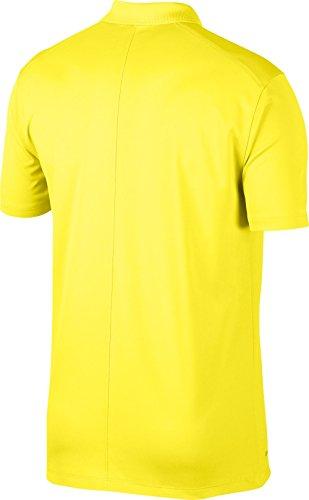 Victory Dry Solid Black Strike Polo Men's Golf Shirt NIKE Yellow 5HwtqEgO