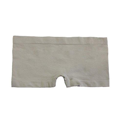 Coobie Seamless Boy Short Panties (One Size, DriftWood)