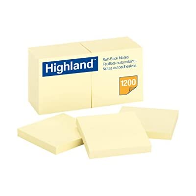 highland-notes-3-x-3-inch-yellow