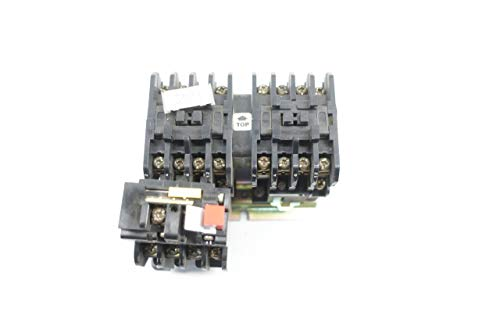 MTE MAX02 0450 105/115V-AC 7.5HP REVERSING Starter D660562 ()