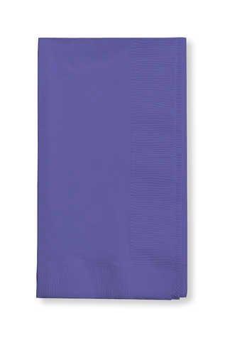 Creative Converting 59115bパープルディナーナプキン、3プライ、1 / 4 Foldソリッド( 10pksケース) B003H7PSAU