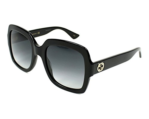 Gucci GG0036S Black/Grey One ()