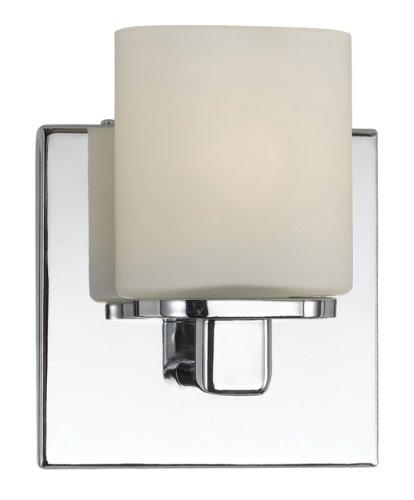 Price comparison product image Eurofase 19414-010 Marond, 1-Light Wall Sconce, White