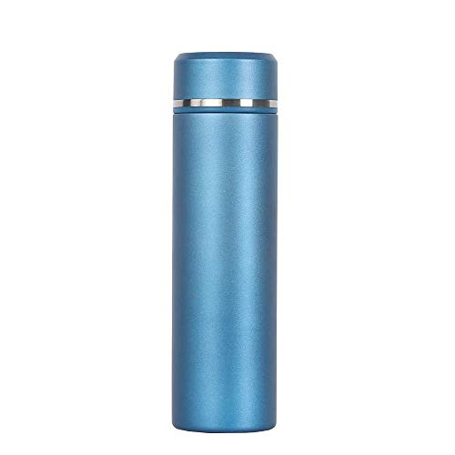 Portable Thermos Beverage Bottle 17oz Tea Infuser Water Bottle - Insulated Hot Coffee Thermos - Cold Fruit Infused Flask - 18/10 Stainless Steel Commuter Bottle For -