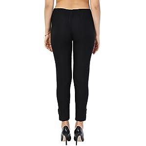PREET GEHNA Women's Slim Fit Jegging (bl-tr-l_Black_Large)