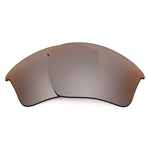 Revant Polarized Replacement Lenses for Oakley Half Jacket 2.0 XL Elite Flash Bronze MirrorShield