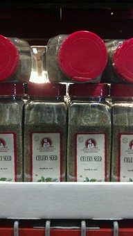 Chef's Quality: Celery Seed 12/16 Oz Case
