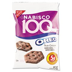 Calorie Packs 100 Kraft (MJK6171 - Oreo 100-Calories Oreo Cookie Snack Pack)