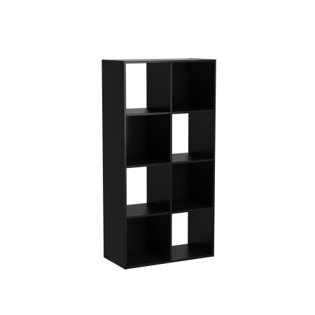 8 Cube Horizontal/Vertical Organizer in Black by Mainstay