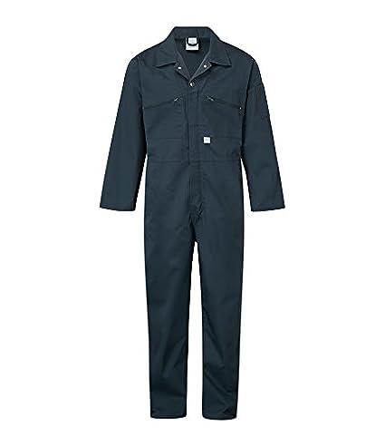Black Blue Castle 366//BK-46 46-Inch Zip Front Coverall Boilersuit