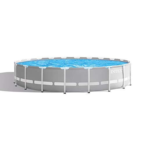 (Intex 20ft x 52in Prism Frame Above Ground Swimming Pool Set with Filter Pump)