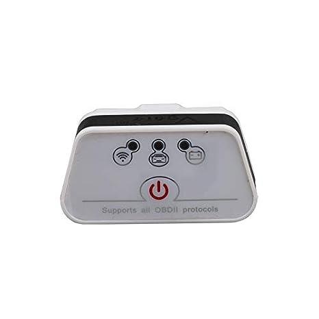 Vgate iCar 2 WIFI OBDII Scanner WIFI ELM327 OBD2 Adapter Code Reader Scan Tool F/ür Android iOS PC ICar2 Automotive Motor Diagnostic Scanner