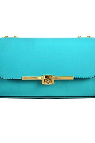 Femme Pochette com Turquoise Luanaromizi Pour 8033p18ib x4IExB0
