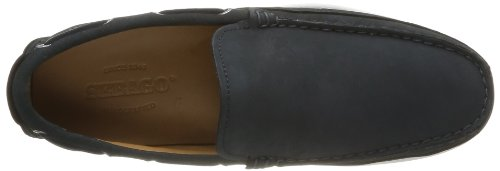 Sebago Canton Slip-On - Náuticos de cuero hombre Azul (Blau (NAVY NUBUCK))