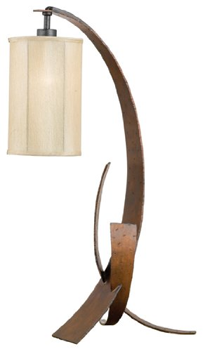 Varaluz 112T01 Table Lamp With In Line Dimmer from the Aizen Collection
