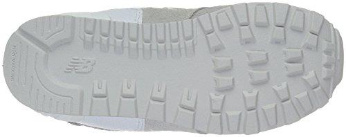 New Balance 574, Zapatillas infantil Gris (Grey/white)