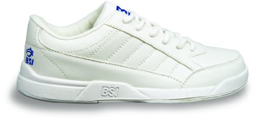BSI Boy's Basic #532 Bowling Shoes, White, Size - Shoes Action Sports Youth