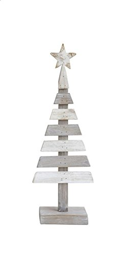 Heart of America Wood Slatted Tree With Star - 3 Pieces by Heart of America (Image #3)