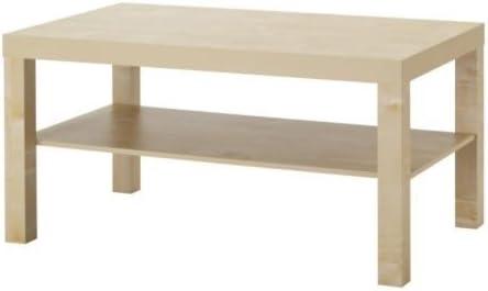 IKEA Lack Couchtisch Birkenachbildung; (90x55cm)