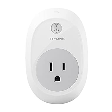 TP-LINK Wi-Fi Smart Plug, Works with Amazon Alexa, Controls Your Electronics From Anywhere (HS100)