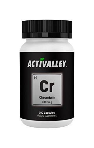 Activalley Chromium 200mcg 100 Capsules | Mega Metabolism Essentials