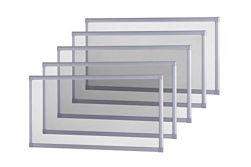 empasa 5er Set Kellerschacht Lichtschacht Abdeckung Gitterrost Lichtschachtabdeckung Kellerschachtabdeckung 60 x 115 cm individuell kürzbar